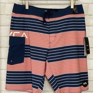 RVCA | Men's Board Shorts | Uncivil Trunks | NWT